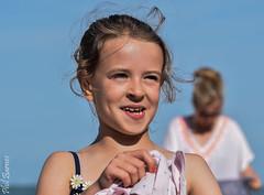 Grace looking a little older! (philbarnes4) Tags: portrait dslr philbarnes child face hair smile