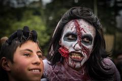 Marcha Zombie 2017 // Bogotá // 28 de Octubre (Peter Lievano) Tags: verde marchazombie marchazombiebogotá marchazombiebogotá2017 zombie zombi terror disfraz costume halloween payasoterrorifico terrorifico zombies marchazombiebogota