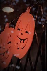 Halloween (annapolis_rose) Tags: halloween windowdisplay pumpkin orangedecorations flickrfriday bakersdozenantiques