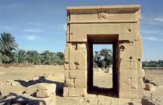 Gate to Hibis Temple, Kharga Oasis, Egypt (msadurski) Tags: egypt egipt desert kharga oasis egyptian temple architecture hibis