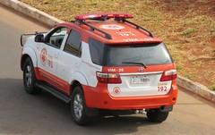 Toyota Hilux - SAMU192-DF VIM 09 (Autos - Brasil) Tags: samu samu192 samudf samur saúde emergency emergencia emergencyvehicle sus secretariadesaude 192 brasilia urgency urgencia toyota toyotahilux toyotasw4 hilux vim medico medical ems