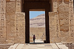 Luxor, Egypt - Medinet Habu - Temple of Ramses III (Therese Beck) Tags: luxor egypt luxoregypt nilevalley egyptnilevalley luxornilevalley templeoframsesiii luxortempleoframsesiii egypttempleoframsesiii egyptmedinethabu luxormedinethabu medinet habu