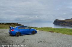 Subaru WRX STI - Loch Pooltiel, Isle of Skye (Neil Sutton Photography) Tags: canon isleofskye landscape lochpooltiel my2015 milovaig rallyarmourmudflaps scotland scottishhighlands subaru subaruimpreza vaseries wrblue wrxsti coast coastline scooby northcoast500