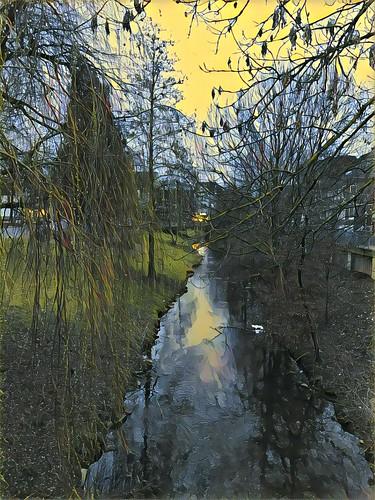 Köln - Die Erft in Bergheim
