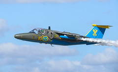 SAAB 105 (Boushh_TFA) Tags: saab 105 10 swedish air force försvarsmaktens flygdagar 2016 malmen airbase flygplats escf malmslätt linköping sweden nikon d600 nikkor 300mm f28 vrii