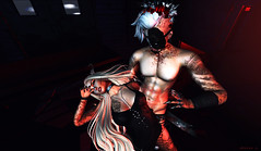 Between my Hands you're my Toy.. (>>Arkнαм Hellнoυɴd<<) Tags: cx cerberusxing event salem bloody ks poses endless pain tattoos beusamexbeusy the nightmare ersch project se7en darkness ati {le fil casse} momochuu phoenix devil claw tattoo