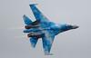 Sukhoi Su-27 Flanker Blue 58 181-1 (cwoodend..........Thanks) Tags: 2017 july2017 riat2017 royalinternationalairtatoo raffairford fairford totterdown ukrainian tacticalaviationbrigade sukoi flanker blue58 58 831sttacticalaviationbrigade su27 sukhoisu27 sukhoisu27flanker su27flanker