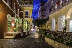 Capri before dawn (sumnerbuck) Tags: capri italy night flickrdiamond diamondclassphotographer
