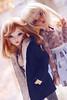Alicia & Ziva (Candyangelz) Tags: bjd ball jointed doll dolls dollfie msd minifee fairyland female cute woman kawaii japan fashion bike celine tan normal skin