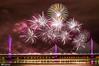 Mersey Gateway Bridge Fireworks 9 (Bob Edwards Photography - Picture Liverpool) Tags: 2017 bridge cheshire crossing gateway halton mersey merseyflow october13th river runcorn transport vehicles widnes