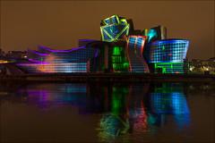 XX Aniversario Guggenheim (Explore) (Jose Cantorna) Tags: bilbao bilbo bizkaia euskadi museo guggenheim arte reflejo nikon d610 ciudad colores