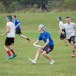 "<b>Alumni Ultimate Frisbee</b><br/> Homecoming 2017 Men's Ultimate Frisbee Alumni game. Photo by Rachel Miller '18<a href=""http://farm5.static.flickr.com/4504/37072007743_695aa1ff87_o.jpg"" title=""High res"">∝</a>"
