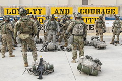 20170315-A-FJ190-002 (Four-Horseman) Tags: ruck march infantry 1id nvg scopes m4a1 saw rifle ach iotv platoon squad leader korea weapon ocp acu handgrip snow breach tunnels trees blackhawk uh60 flying helicopter grass camoflauge ranger sgt pfc spc cpl boots infantrymen formation loyalty courage chosenones straps eyepro rucking mountains city koreanflag m249 pouches medic mags clips teamwork battle buddy cover awg smoke pink green blue campcasey apo ap