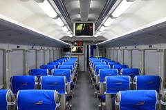 Argo Dwipangga Executive Train Coach (aristantoaryo) Tags: indonesia indonesianrailway inside interior train coach wagon railway railfans passenger seat keretaapi kereta ptkai argodwipangga executive comfort gerbong interiorka k1 rail