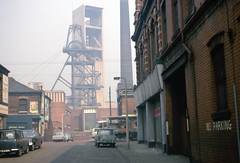 Bradford Colliery apr 1969 (foundin_a_attic) Tags: manchester 1969 bradfordcolliery hawkestreet mine coal pit colliery ncb