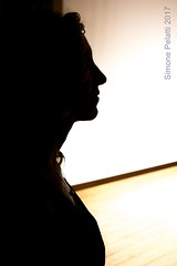 heart on stage (simone.pelatti) Tags: stage siluette actress portrait contrast sonya6000