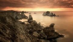 The Ocean (Anto Camacho) Tags: sunset liencres ocean waterscape landscape light rocks bigstopper longexposure clouds spain nature 52of2017