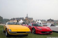 Chantilly Arts & Elegance 2014 - Ferrari 365 GTB/4 Daytona & Ferrari 458 Italia (Deux-Chevrons.com) Tags: ferrari365gtb4daytona ferrari365gtb4 ferrari 365 gtb4 daytona ferrari365gtb ferrari458italia 458 italia 458italia car coche voiture auto automobile automotive chantillyartselegance chantilly france classiccar classic classique ancienne collection collectible collector vintage oldtimer exotic exotics supercar sportcar gt prestige luxe luxury
