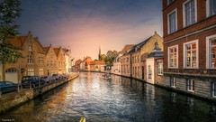 Bruges -(3824) (YᗩSᗰIᘉᗴ HᗴᘉS +8 500 000 thx❀) Tags: bruges belgium belgique water waterscape canal canaux landscape hensyasmine