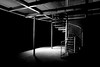 Side Light-2.jpg (___INFINITY___) Tags: 6d aberdeen bw canon darrenwright dazza1040 eos flash infinity light lightpainting monochrome night scotland spiral staircase strobist