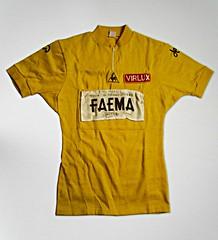 1969 TDF Yellow Jersey Eddy Merckx (Sallanches 1964) Tags: merckxissimo 2009 tourdefrance 1969 maillotjaune yellowjersey eddymerckx thecannibal iconofcycling