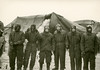 Vlieland - Cavalerie Schiet Kamp - 1962 - stormschade (Dirk Bruin) Tags: vlieland militair oefenterrein csk cavalerie schiet kamp storm tentenkamp tenten schade stranding vrouwekerk 20 januari 1962