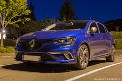 Renault Megane IV GT (2017) (Alexandre D_) Tags: canon eos 70d night nightsky naturallight availablelight longexposure exposure cars car voiture carspotting vehicles wheel blue nightphotography photography photographer renault megane gt megane4 meganeiv megane4gt renaultsport french frenchcar frenchtouch france hautsdefrance nord pasdecalais new billymontigny parking shooting sky spotting three raw camera sigma sigma1835mmf18hsmart 1835mm tripod vanguard auto automobile automotive road 4control astoundingimage