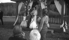 patrick and brandi (bergytone) Tags: film bw kodak bantam 828 folding antique kentmere 100 xtol wedding portrait photos bride groom colorado