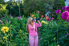This is how you make Wanda happy... (tquist24) Tags: bonneyvillemillcountypark indiana nikon nikond5300 wanda color colorful dahlia dahlias flower flowers garden geotagged girl park photographer pink sunglasses woman bristol unitedstates
