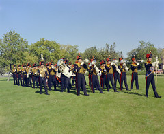 Royal Canadian Horse Artillery Band, 1950s [LAC] (vintage.winnipeg) Tags: winnipeg manitoba canada vintage history historic armedforces