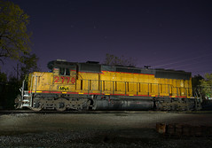 MNA 2778 @ Harrisonville, MO (SDfourD) Tags: mna2778 emd sd40m2 sd45 missouripacific harrisonvillemo