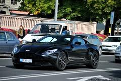 Aston Martin DB11 - Switzerland, diplomatic plate (Helvetics_VS) Tags: licenseplate switzerland geneva qatar sportcars astonmartin db11 diplomaticplate