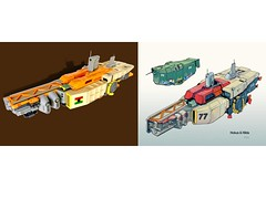 Comparison (Keith Goldman) Tags: ship shiptemberv space lego marcusgarvey ghana blackstarline goat