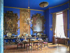 Ireland - Bantry - Bantry House (Marcial Bernabeu) Tags: marcial bernabeu bernabéu ireland irlanda bantry house mansion comedor dining room antique old furniture mobiliario blue azul