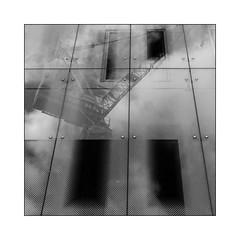 Reflets B&W (Jean-Louis DUMAS) Tags: bw noiretblanc noir black blanc white noretblanc reflets reflections
