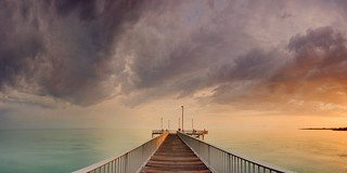 Nightcliff Jetty in morning light