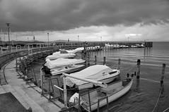 lago Trasimeno (maurizio.s.) Tags: lagotrasimeno trasimeno lake water storm clouds tempesta pioggia rain grey boat nikond300 nikon18105 nikon umbria