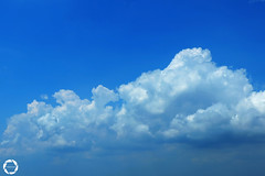 C L O U D S (NadzNidzPhotography) Tags: nadznidzphotography clouds crazytuesdaytheme 7dwf ctt sky blue summer sunny cloudscape cloudsandsky