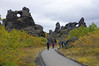 Dimmuborgir - 2 (jameskirchner15) Tags: dimmuborgir iceland myvatn volcanicstructures volcanic lava fallcolor landscape scenic rock geology geomorphology