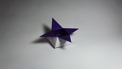 Traditional Origami Star Box (Origami.me) Tags: origami papercraft papercrafts paper craft crafts diy traditional fold folding star box