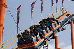 Rollercoaster (demeeschter) Tags: usa new york state fair syracuse city town attraction market games rides livestock animals farm food show