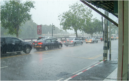 rainstorm in Chiang mai 6.10.17
