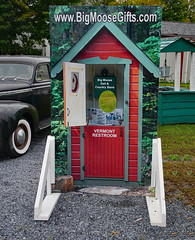 Vermont outhouse (dr.tspencer) Tags: hoosickny humor novelty bigmoosedelicountrystore rensselaercounty tamron16300mm