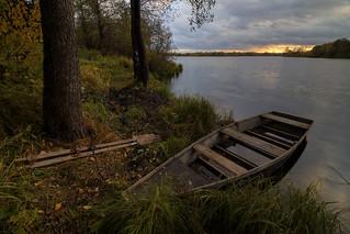 dreaming of tomorrow's fishing