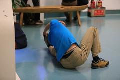 IMG_2640 (thomas_nyy) Tags: yoga 瑜珈 登機門 taoyuan taoyuanairport boardinggate boarding chinaairlines a6 departure terminal 桃園機場 中華航空 華航