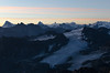 Sunrise at Mont Fort (Céline Leboutte) Tags: mountains wallis valais mont fort verbier montagnes berge landschaft landscape sunrise schweiz switzerland