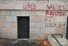 "#Manif10octobre #Nantes #GameOfTags: ""CASH Impact"" / ""LISEZ NANTES REVOLTEE"" ""ET LUNDI.AM"" (ValK.) Tags: gameoftags loitravailxxl pjlterrorisme loitravail cabanedupeuple etatdurgencepermanant maisondupeuple nantes politique valk demonstration fonctionpublique graff graffiti greve intersyndicale manifestationunitaire social tag france fr"