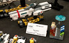 HMS Agincourt at BrickCon 2017 (Rphilo004) Tags: lego spaceship spacecraft starship microscale microspace micro space brickcon 2017