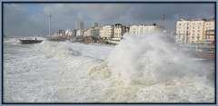 Brighton Sea Front (maryimackins) Tags: storm brian brighton seafront weather sussex mary mackins waves