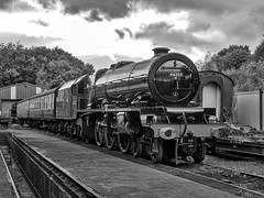 MRC2017-26 (Dreaming of Steam) Tags: 46203 heritage heritagerailways lms midlandrailwaycentre princessmargaretrose princessroyalclass railway stainer steam steamengine train vintage engine locomotive railroad smoke steamlocomotive
